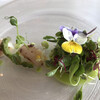 レ セゾン - 料理写真:帆立貝柱と野菜を初夏の庭園にみたてて