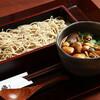 芳とも庵 - 料理写真:きのこつけ蕎麦