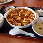 13731183 - 麻婆豆腐セット