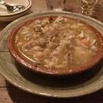 エチェガライ - コシード(マドリード風豚肉とひよこ豆の煮込み)