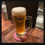 41CURRY - セットの生ビール