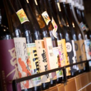 本格焼酎や静岡地酒、ワインなど幅広いランンナップでご用意!!