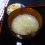 井川城 - 元気のでるスープ
