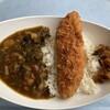 シーウインド - 料理写真:マグロカツ野菜カレー(880円)