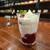 トムズカフェ - ベリークレームシャンティ(650円)です。