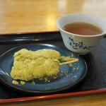 れすとらん風月 - 名物三井寺力餅(300円)