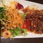 花膳 - 三元豚バラ肉にんにくスタミナ焼