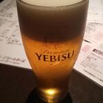 花膳 - ヱビスビール