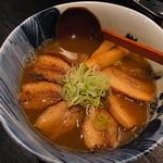 青森煮干し中華そば JIN - 煮干し焼豚