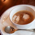 ルバーブ - お魚と渡り蟹のスープ☆
