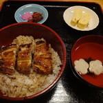 うなぎ屋 鰻里 - お昼のランチ 鰻丼800円