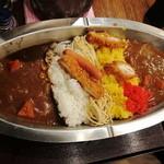開運1円カレー - 大皿。でかい!
