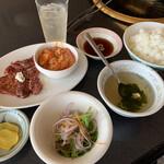 食道園 - サガリ&ホルモンランチ