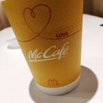 マクドナルド - ドリンク写真:ホットコーヒー 100円