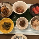 Minnanofuresshu - ご飯のお供6種盛り