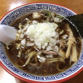 地鶏らーめん花道  - 料理写真:ブラウンラーメン