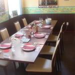 BISTRO WAKU2 - おまかせコース料理時のテーブルセッティング