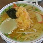 つばくら食堂 - 料理写真:天ぷら中華