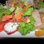 マームン - 海鮮サラダ(お刺身サラダ)