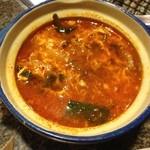韓屋 - 料理写真:ユッケジャンスープ