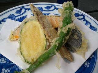 鎌倉 松原庵 - 通常の野菜の天麩羅