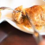 洋食ダチェス - お子様ランチのハンバーグも肉汁すごいのよ