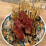 広島ホルモン・冷麺・元祖たれ焼肉 肉匣 - ハラミ