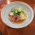 京雀 - 突合せの茄子の煮浸し