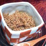 京都ぎをん 八咫 - ちりめん山椒・・美味しいですよ。量がタップリなのが嬉しい。