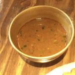 Nepal STATION - ネワリサマエバジセットのカレースープ