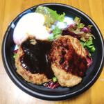 レストラン みゅぜ・ど・ぱすてる - 料理写真:ロコモコ丼