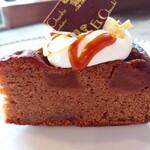 137368484 - キャラメルチョコケーキ