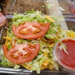 キングタコス - 料理写真:タコス2ピース
