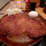華道カレー - チキンカツカレー  超特大です