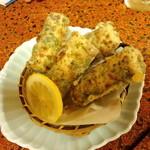 やんしゅうばんや 八角 - 竹輪の磯辺揚げ(チーズ入り) 450円(2012.6月)
