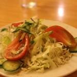 東インドカレーレストラン シャンティ - サラダ