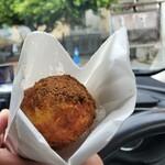中本鮮魚店 - 揚げパン黒糖