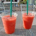 選果工房 - ドリンク写真:イチゴジュース