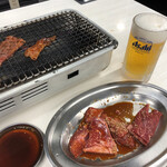 137375773 - 焼肉にはやっぱり生ビール!
