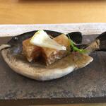 うちげの料理 八塩 - 貝とおっしゃったかな?       煮凝り。