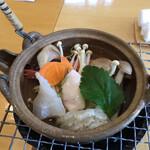 うちげの料理 八塩 - 海鮮土瓶蒸し