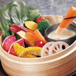 咲くら - 名物!!温野菜のバーニャカウダ