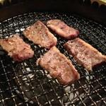 新長亭 - ハラミ、焼けましたo(^▽^)o