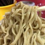 ラーメン二郎 - 【再訪】麺