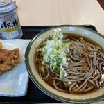 丸政そば - 料理写真: