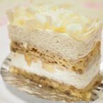 IL PLEUT SUR LA SEINE - バナナのショートケーキ
