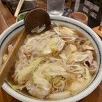 137386198 - 東京肉うどん