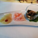 ヘイフンテラス - 前菜3種