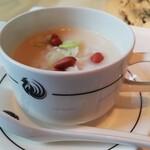 ヘイフンテラス - ハタと干し貝柱入り香港粥