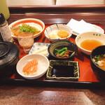 小魚阿も珍 - 料理写真:よくばり阿も珍定食980円税別